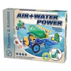 Air and Water Power Pneumatic Hydraulic Engines Kit $41.19