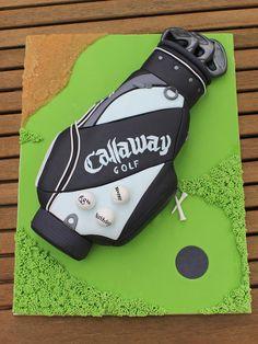 Callaway Golf Bag Cake - CakesDecor
