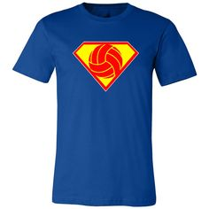 It's time to show off your alter-ego with our one of a kind exclusive SuperVolley Men's Super Hero T-Shirt!! $19.99