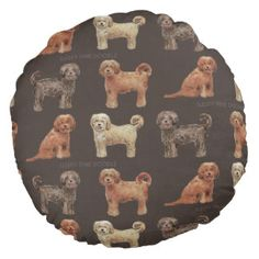 Check out all of the amazing designs that Labradoodle Love™ has created for your Zazzle products. Make one-of-a-kind gifts with these designs! Australian Labradoodle, Round Pillow, Doodles, Cartoon, Pillows, Create, Illustration, Dogs, Gifts