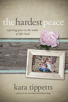 Pebbles and Piggytails: Making Life Meaningful: The Hardest Peace Book Review and giveaway. #BreastCancerAwareness