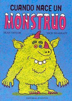Cuando nace un MONSTRUO pueden suceder dos cosas: que sea un monstruo que habita en los bosques lejanos o… que sea un monstruo que vive debajo de tu cama. Si es un monstruo que habita en los bosques lejanos, entonces ya está. Pero si es un monstruo que vive debajo de tu cama pueden suceder dos cosas: que te devore, o que os hagáis amigos y te lo lleves a la escuela…