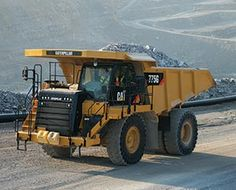 Caterpillar Off-Highway Truck Caterpillar Bulldozer, Mining Equipment, Heavy Equipment, Dump Trucks, Big Trucks, Radiator Service, King Construction, Earth Moving Equipment, Trucks