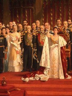 Inauguration of Queen Wilhelmina