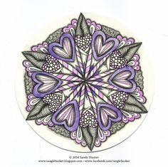 • ❃ • ❋ • ❁ • tanglebucket • ✿ • ✽ • ❀ •: Weekly Challenge #154: valentanglin'.