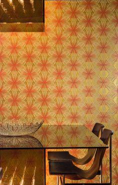 Meteor Flower @ Flavor Paper : Tasty Wallcovering