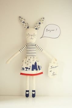 Make your own Rabbit kit by mikodesign on Etsy, €18.00