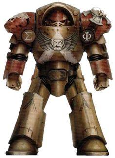 Minotaurs Vanguard Veteran Ixthalion in Tartaros Pattern Terminator Armour