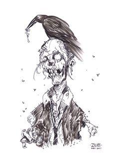 Zombie Cartoon Drawings   Zombie Sketch by Zubby