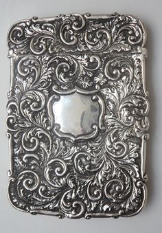 Silver Card Case from Vine Antiques