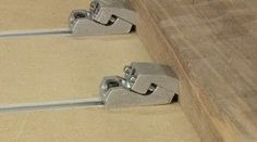 Legacy's NEW LoPro CNC Track Clamps Legacy's LoPro T Track Clamps allow you to machine the entire surface of your blank plus the downward