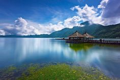 Lake Batur and Mountain Batur in Kintamani bali, Indonesia Oh The Places You'll Go, Places To Visit, Bali Tour Packages, Komodo National Park, Komodo Island, Gili Trawangan, Instagram Worthy, Lombok, Bali Travel