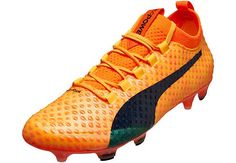 Buy the Puma evoPOWER Vigor 3D in orange from SoccerPro today! Soccer Shoes 7badc4f00