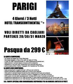 Pasqua a Parigi con volo diretto da Cagliari