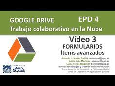 GOOGLE DRIVE 2015. 03 - Formularios (II) Ítems avanzados y de diseño - YouTube