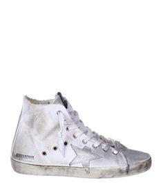 Sneakers Francy Blanc/Aloha  - GOLDEN GOOSE