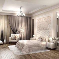 El dormitorio es uno de los lugares más importantes de tu casa. Debes mantener la armonía allí para tener una buena noche de sueño. Vea más ideas de diseño de interiores aquí www.covethouse.eu