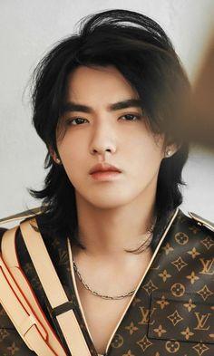 Kris Wu, Le Rosey, Mullet Hairstyle, Wu Yi Fan, Boys Long Hairstyles, Kim Minseok, Hair Reference, Mullets, Pretty People