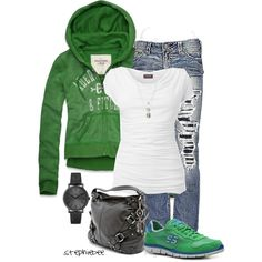 """""""Casual"""" by stephiebees on Polyvore"""