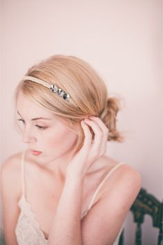 Vintage Bridal Boudoir Shoot / Izzie Rae Photography