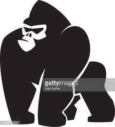 Arte vetorial : Gorila