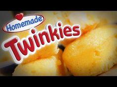 How to Make Mini Twinkies at Home
