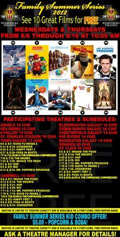 Free summer movies - Wehrenberg