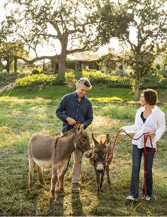 Brooke and Steve Giannetti on Patina Farm.