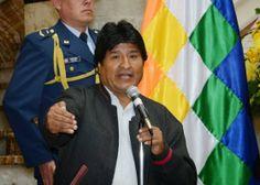 Morales ataca o Brasil, o Chile e os EUA | O presidente da Bolívia cobra a dívida que a Petrobras tem com o país, quer levar o Chile aos tribunais e critica a luta antidrogas dos norte-americanos. http://mundoemmanchete.blogspot.com.br/2014/02/morales-ataca-o-brasil-o-chile-e-os-eua.html