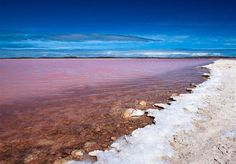lake retba view