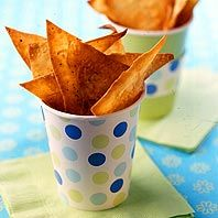 Crispy Parmesan Chips - easy and fun to make!