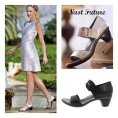 Naot Future--a wonderful dressy sandal with great support.