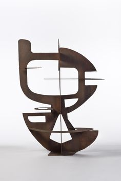 Berto Lardera (1911-1989) Sculpture, 1952 Sculpture en tôle de fer découpée et soudée