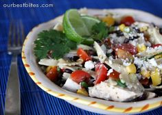 Family Favorites on Pinterest | Black Beans, Southwest Pasta Salads ...