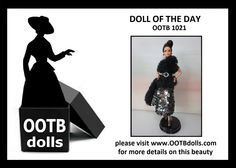 06.21.14 - Fashion rules sometimes are meant to be broken to give a fresher look, and here at OOTB DOLLS, we do just that with this doll OOTB 1021. Introducing yet another beauty with the original concept of how the tulle  sequins can be utilized differently. Typically, tulle is on the skirt, and sequins can be on the top! For this gown, we turn this concept upside down  the result works just as fun! Enjoy!  Please check out our website for more details on this beauty! www.OOTBdolls.com