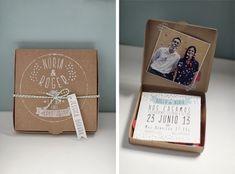 Bodas con detalle - Blog de bodas con ideas para una boda original: Invitaciones de boda en papel kraft