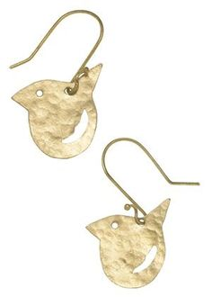 People Tree bird earrings #fashiontakesaction