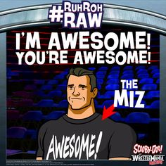 #ScoobyDoo #WWE #RuhRohRaw #TheMiz #Awesome