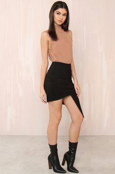 Lola Shoetique - Angles Skirt - Black, $38.99 (http://www.lolashoetique.com/angles-skirt-black/)