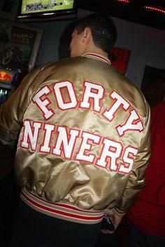 6a09a3012 San Francisco 49ers vintage jacket