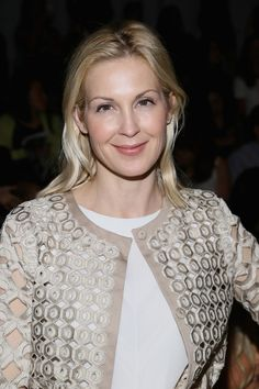 Kelly Rutherford - TRESemme at Vivienne Tam Mercedes-Benz Fashion Week Spring 2014 - Backstage and Front Row