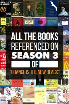 "All The Books Referenced On Season 3 Of ""Orange Is The New Black"""