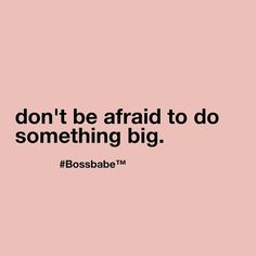 Don't live in fear of the unknown when you have the power to control the outcome. Come and join us in the #BossBabe Academy today! Click the link in our bio to sign up for free