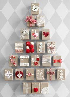 Paketkalender med askar – Gift Box Advent Calendar