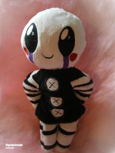 Handmade FnaF Plushie – Chibi Puppet by HipsterOwlet on DeviantArt Freddy S, Fnaf Plush Toys, Fnaf Crafts, Foxy And Mangle, The Marionette, Scary Games, Pokemon, Fnaf Sister Location, Kawaii