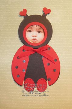 Baby Bubbles — ladybug by gbarron – Cards and Paper Crafts at Splitcoaststamper… Baby Bubbles — ladybug by gbarron – Cards and Paper Crafts at Splitcoaststampers Baby Ladybug, Ladybug Party, Baby Crafts, Preschool Crafts, Crafts For Kids, Festa Lady Bag, Ladybug Crafts, Punch Art Cards, Baby Art