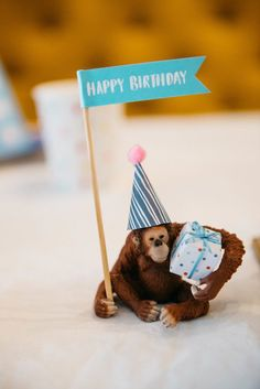 Kara's Party Ideas Rock 'n Roll Animal Birthday Party Wild One Birthday Party, Baby Party, Baby Birthday, 1st Birthday Parties, Birthday Ideas, Party Animals, Animal Party, Animal Fun, Safari Party