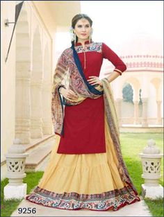 541dcff3747 Buy Online Maoroon and Beige Designer Lehenga Choli Collection Lehenga  Suit