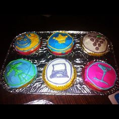 Cupcakes @4sqLA #4sqDay #4sqdayLA