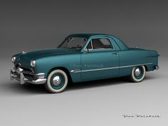 What if...1950 Ford Business Coupe
